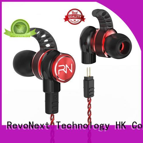 RevoNext quad sound cancelling headphones earbuds for jogging