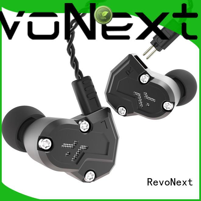 RevoNext earphones quad driver earphones supplier for sport