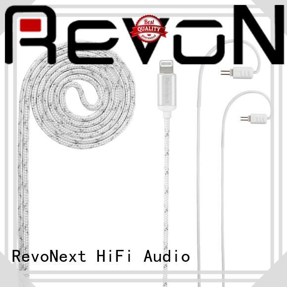 RevoNext lightning cable headphones bulk buy for hifi