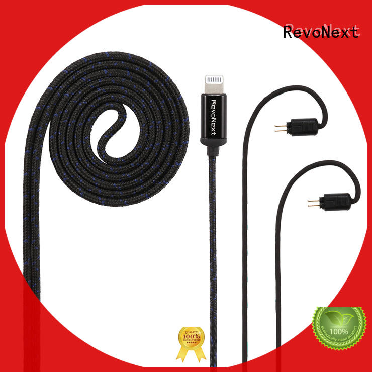 RevoNext best headphone cable company for earbuds