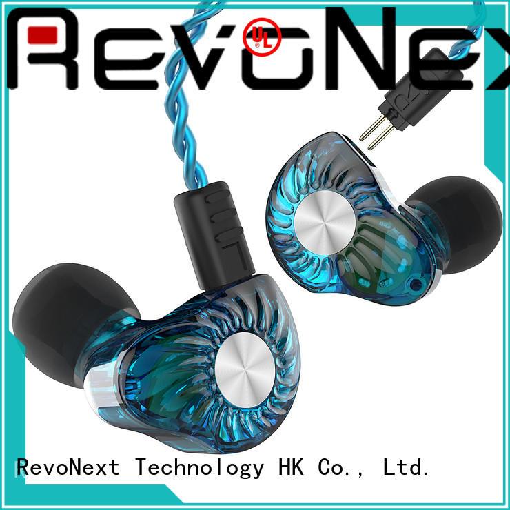 best sounding in ear headphones inear for firness room RevoNext