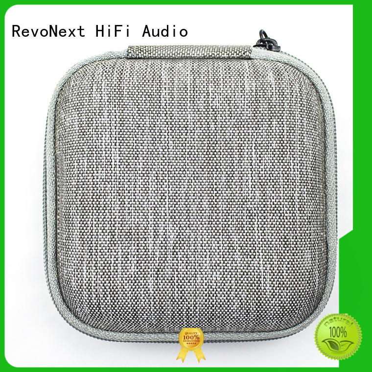 RevoNext Detachable earbud carrying case in ear monitor for firness room