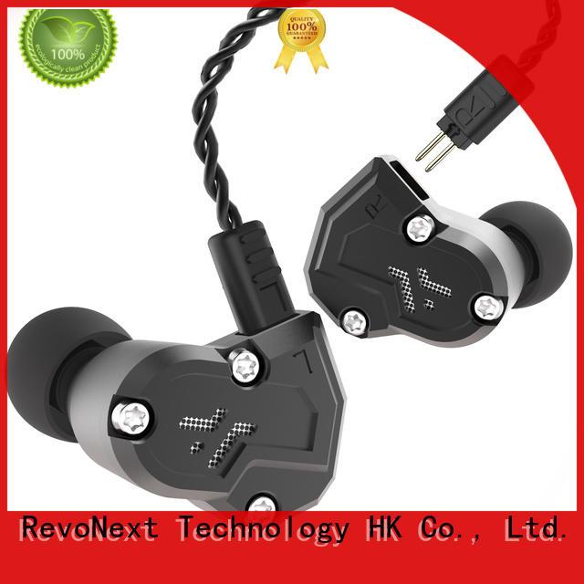 earphones good in ear headphones in ear monitor for gym centre RevoNext
