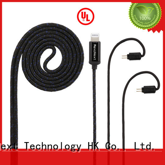 RevoNext lightning cable headphones company for hifi