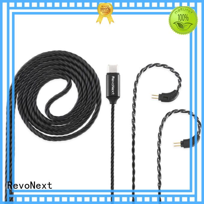 RevoNext best value headphone cable with microphone promotion for hifi