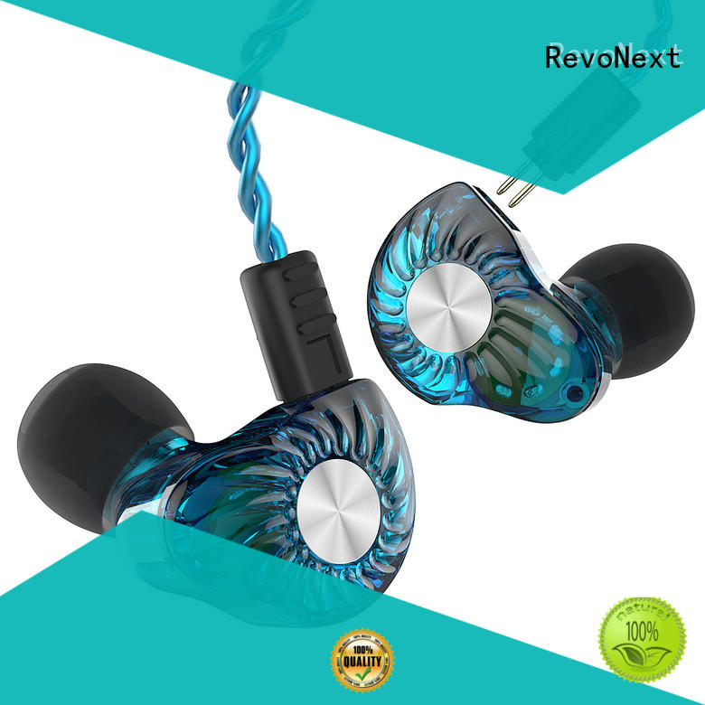 RevoNext comfortable wear top rated ear buds earbuds for gym centre