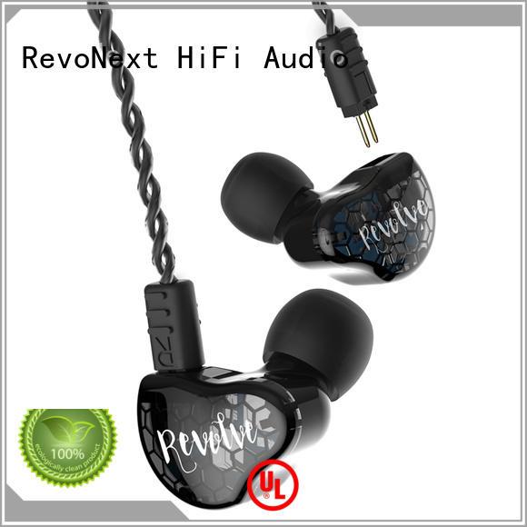 dual earphones RevoNext Brand top ten in ear headphones factory
