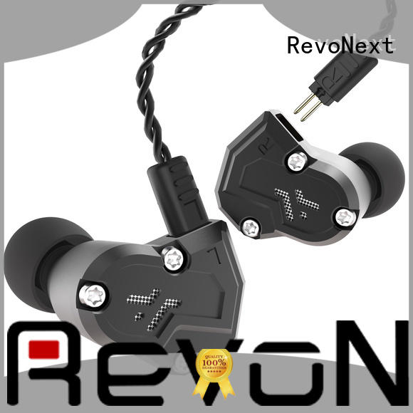 RevoNext bluetooth cable best sounding earbuds noise cancelling for jogging