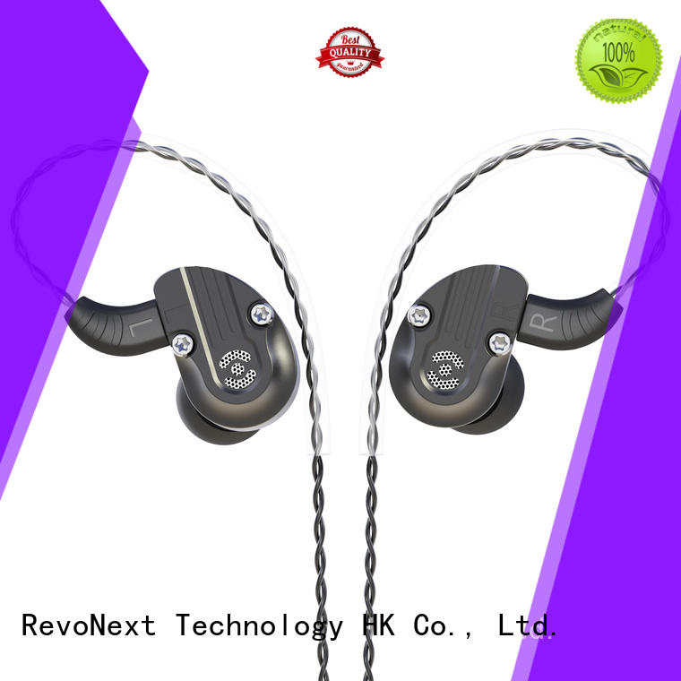 RevoNext hifi sound effect durable in ear headphones earbuds for office