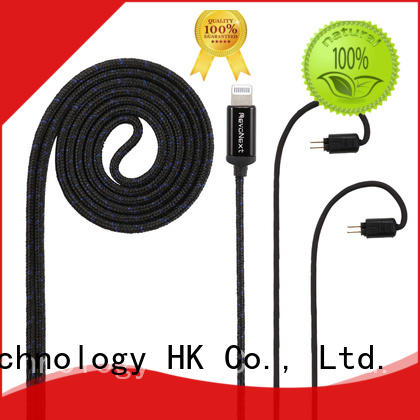 RevoNext lightning cable earphones company for stereo sound