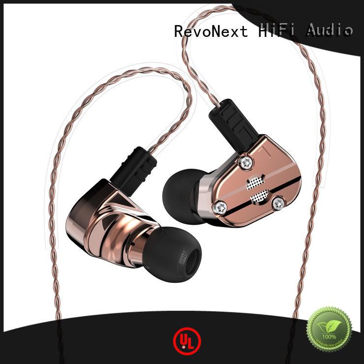 dual drivers RevoNext Brand top ten in ear headphones