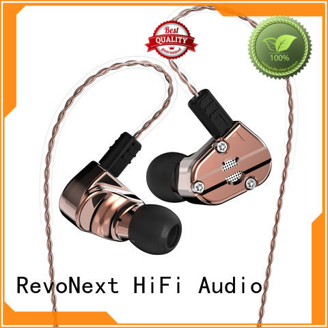 dual good quality in ear headphones rx6 for school RevoNext