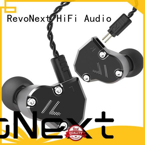 Wholesale quad top ten in ear headphones drivers RevoNext Brand
