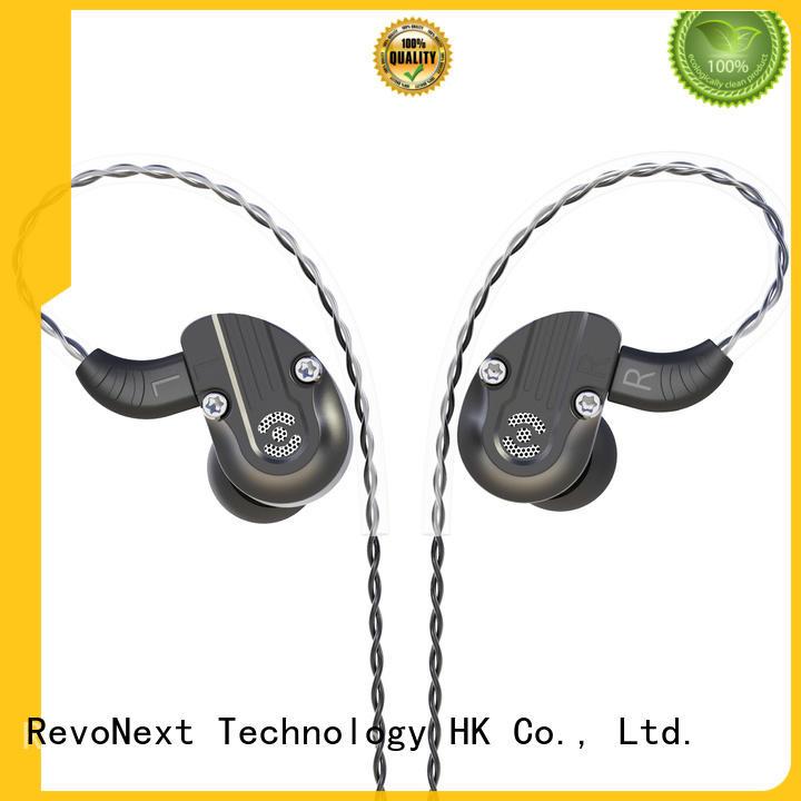 triple hifi headphones dual for gym centre RevoNext