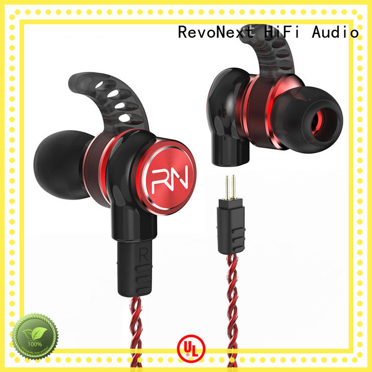qt2s best rated in ear headphones earphones for gym centre RevoNext