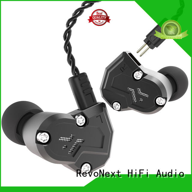 good quality in ear headphones headphone for gym centre RevoNext