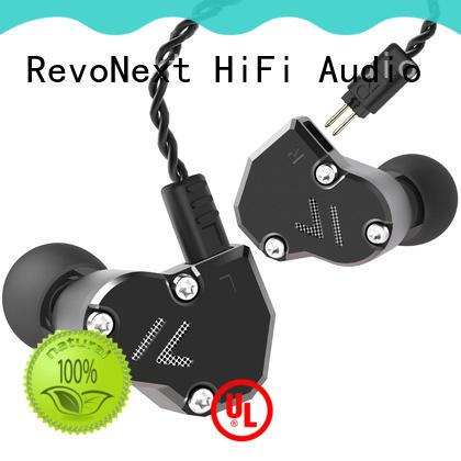 triple earphones top ten in ear headphones quad headphone RevoNext Brand