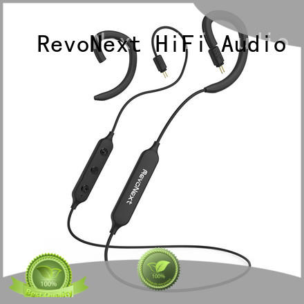 RevoNext silicone 2 pin bluetooth cable factory price for earbuds
