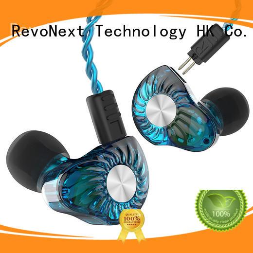 RevoNext bluetooth cable detachable cable headphones noise cancelling for jogging