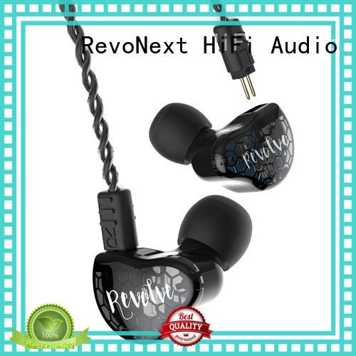 dual headphone best buy in ear headphones RevoNext Brand