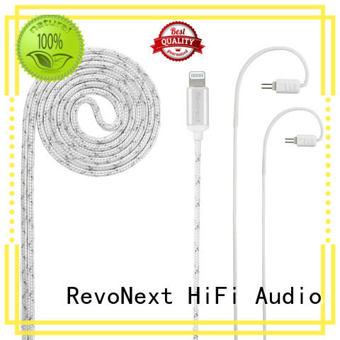 RevoNext cost-effective lightning cable headphones promotion for audio
