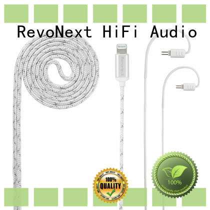 factory price headphone cable with microphone directly sale for hifi