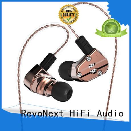 RevoNext qt3s good in ear headphones earbuds for school