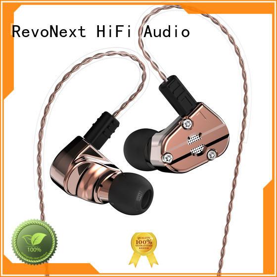 Hot dual top ten in ear headphones triple RevoNext Brand
